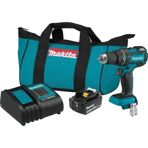 Makita XFD061 18V LXT Lithium-Ion COMPACT Brushless Cordless 12 Driver-Drill Kit
