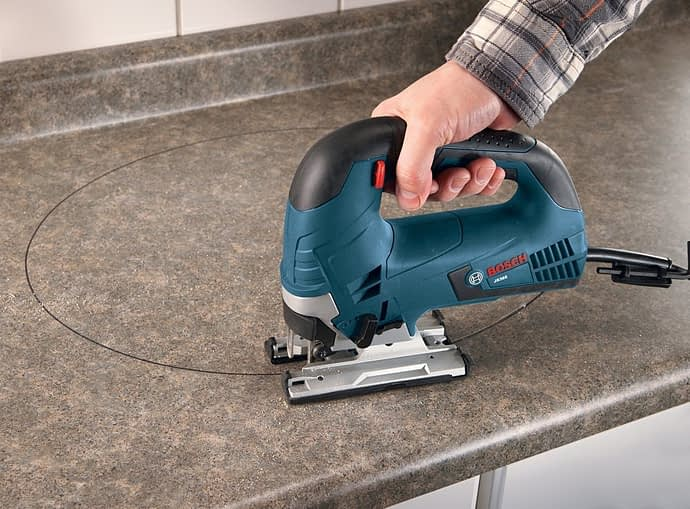 bosch js365 jigsaw cutting curves