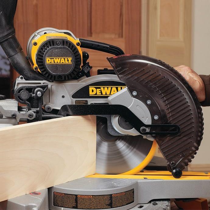 DEWALT DW717 being used
