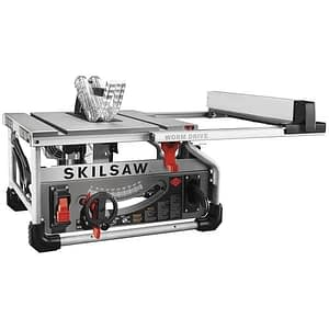 SKILSAW SPT70WT-01 10 Portable Worm Drive Table Saw with 25 Rip Capacity
