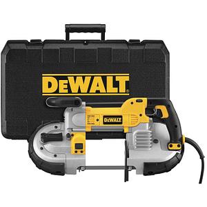 DEWALT DWM120K 10 Amp 5-Inch Deep Cut Portable Band Saw Kit